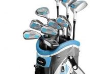 Inexpensive Packaged Sets / Includes all clubs, golf bag, headcovers