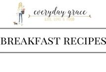 Breakfast Recipes / All things breakfast!