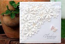 Paper Crafty - White on White