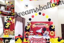 Balloon decoration / Balloon decoration for birthday party , baby shower , bridal shower