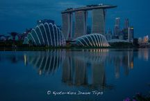 My Visit to Singapore in 2015 / Singapore, an island city-state off southern Malaysia, is a global financial centre with a tropical climate and multicultural population. In circa-1820 Chinatown stands the red-and-gold Buddha's Tooth Relic Temple, Little India offers colourful souvenirs and Arab Street is lined with fabric shops. Singapore is also known for eclectic street fare, served in hawker centres such as Tiong Bahru and Maxwell Road. Population:5.399 million (2013) Area:718.3 km² ISO code:SGP (Sources include:World Bank)