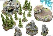 Wargame terrain / Wargame, spacemarine terrain