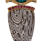 Jewelry: mokume gane