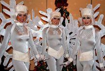 DIY Snowflake Christmas Costume Idea / DIY Snowflake Christmas Costume Idea