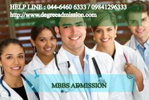 MBBS Admission / Admission in Top MBBS Colleges in India http://www.degreeadmission.com/medical/mbbs.html