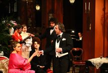 La Traviata di Giuseppe Verdi / some shows of Verdi's La Traviata at St. Mark's Opera in Florence