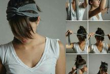 Lenços e turbantes