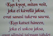 Runoja suomeksi