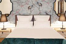 Ambientes / Estilos de decoración en textiles para hostelería. Ideas de Inspiración