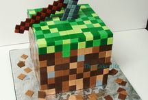 minecraft cakes / For people's birthday cakes and their nails and to see SQUID in real life