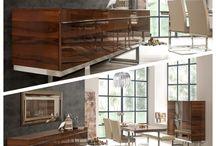 Yemek Odası Modelleri / Birbirinden şık yemek odalarında ziyafetin tadına varın.