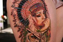 Native american tattoo's