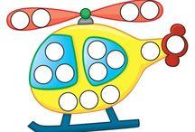 Nápady na tvorbu pro děti / Nápady na různé pomůcky pro učení dětí :-)