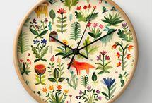 wall clocks / SATOVI