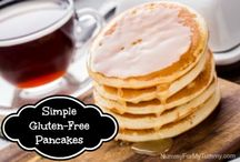 Pancakes ~ Gluten-Free / Pancakes that are definitely gluten-free and some are even Paleo <3