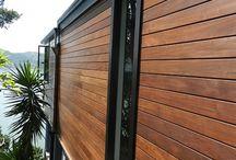 Metal & Wood Siding houses