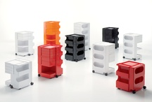 BOBY Trolley & Cart / Trolley storage unit #design by Joe Colombo in 1970! Made from injection moulded ABS plastic with assorted amazing colors. Awarded first prize ar SMAU in 1971. Part of a collection of MOMA in New York and Triennale in Milan