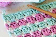 Crochet Stitches and Tutorials