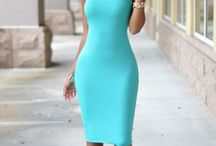 Hugging dresses/skirts