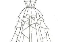 Wedding Dress Sketches / by Ingrid Ann