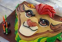 Lejon tårta