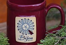 #BijouBrewCrew / Join us in the Bijou Buzz to chat about parenting and babywearing over mug cakes or your beverage of choice!    https://www.facebook.com/groups/BijouWearChatter/  Bijou is proud to offer Deneen Pottery mugs for sale at www.bijouwear.com.  These gorgeous mugs are handthrown, glazed, and fired in Minnesota, USA! Twenty-four pairs of hands help craft each individual mug, and no two mugs are exactly alike. Their quality is impeccable.