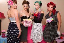 Rockabilly Pin Up-Girls