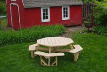 Picnic Tables / From Contemporary to Old fashioned Picnic Tables