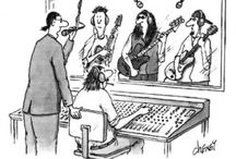 Music cartoons