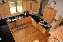 Timber Frame Kitchens / Timber Frame kitchens are as individual as their owners.