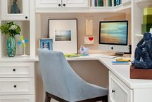 Home Office Refresh / Inspire the kids with a cute reading nook or hide your workspace with some clever DIY furniture… all you need are these smart decorating & organizing ideas. / by Tuesday Morning