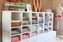 Sewing - fabric - storage
