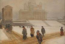 Helsingfors i konsten