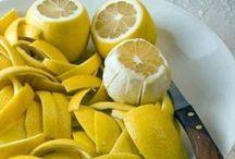 Limon kabuğu ile ağrı