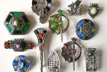 Kilt pins, Celtic  / by June Darbe