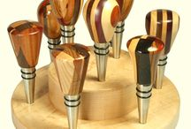 Pimping bottle stoppers & openers / Wood turned bottle stoppers and openers by super skilled craftsmen!