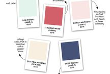 Color Schemes / by Smitten Kittens