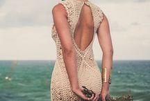 vestidos de novia de ganchillo