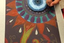 Art Lesson Ideas: Mandalas / by Michelle McGrath