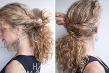 Ötletek göndör hajhoz