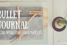 Bullet Journal Inspiration / Ideas and inspiration for bullet journal