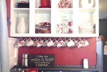 coffee bar / by Sherry Smith Lamb