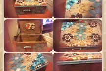 Decoupage / Some of the projects I made