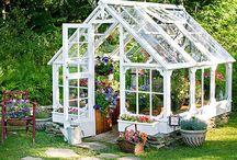Hus i hagen