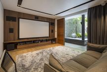 Home entertainment - media rooms