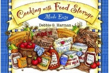Step 4: Food Storage Books / We love to collect food storage books and cookbooks. Follow this board to see what's on OUR bookshelves!