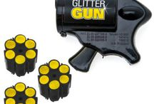 guns and glitter - T&R combined birthday