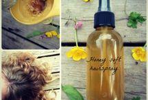 DIY hair and body