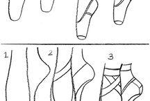 stopy i buty (jak rys.)