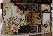 Tri shutter cards